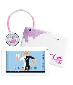 Tablet-Android-4.2-Xuxa-com-Headphone---Tela-7-Multi-Touch-e-Memoria-Interna-8GB---Candide