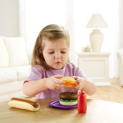 Faz-de-Conta---Hamburger-e-Hot-Dog---Fisher-Price