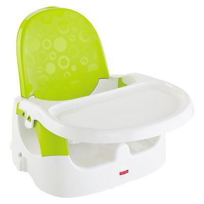 Cadeira de Alimentação Booster 2 em 1 - Verde - Fisher-Price