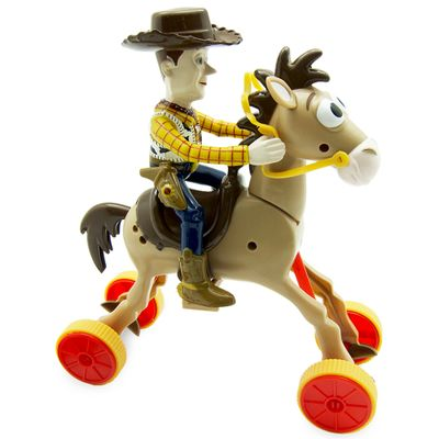 Boneco Woody e Cavalo Bala no Alvo Galopantes - Toy Story - Toyng - Disney