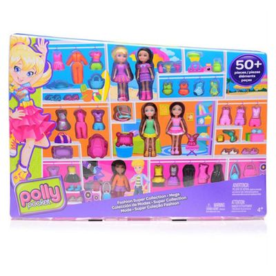 Polly-Pocket---Kit-5-Amigas-Super-Fashion-CBW-73