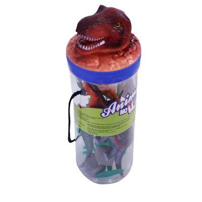 Conjunto-Bichos-em-Miniatura---Animais-no-Tubo---Dinossauros---Toyng