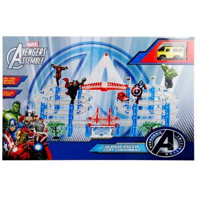 Super-Pista-com-Carrinho---Avengers-Assemble-Marvel---Toyng