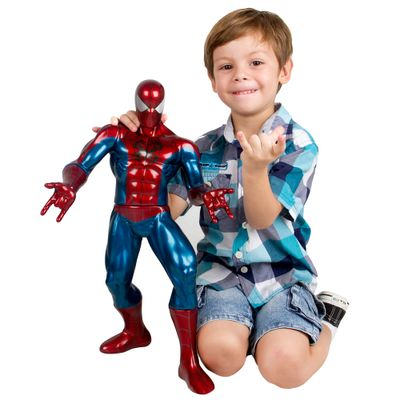 Boneco-Spider-Man-Metalizado-Premium-Gigante---Mimo