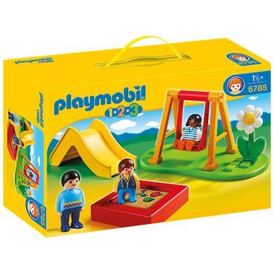 6785-Playmobil-1-2-3-Parque-Infantil-Sunny