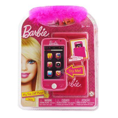 Telefone Celular Barbie - Rosa - Intek