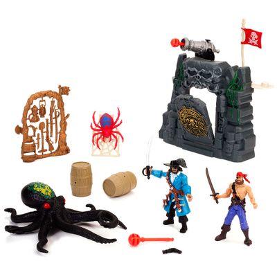 505132-Playset-Pirates-Expedition-Caverna-Caveira-dos-Piratas-New-Toys