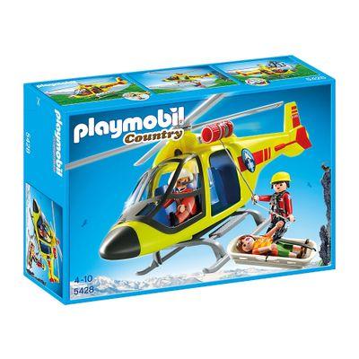Playmobil-Country---Helicoptero-de-Resgate-da-Montanha---5428