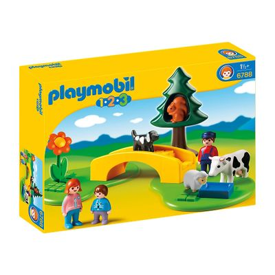 Playmobil-1-2-3---Meadow-Path---6788