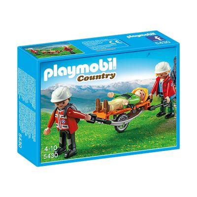 Playmobil-Country---Equipe-de-Resgate-da-Montanha-com-Maca---5430