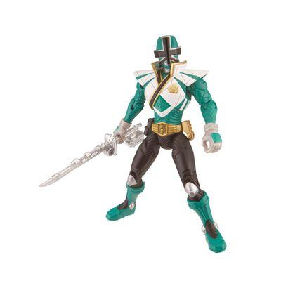Boneco Power Rangers Samurai - Super Mega Ranger Floresta - 31709 - Sunny