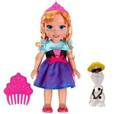 Boneca Princesa Anna - 15 Centímetros - Disney Frozen - Sunny