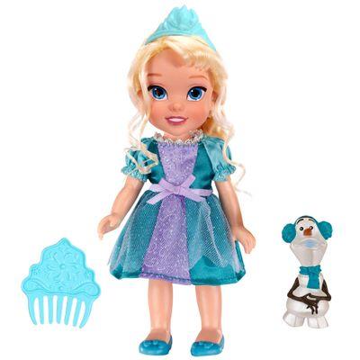 Boneca Princesa Elsa - 15 Centímetros - Disney Frozen - Sunny