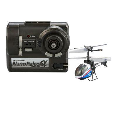Helicóptero de Controle Remoto - Silverlit Nano Falcon - Azul - DTC