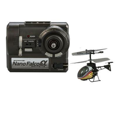 Helicóptero de Controle Remoto - Silverlit Nano Falcon - Amarelo - DTC