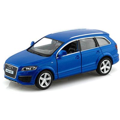 Carrinho Super Marcas FX - Audi Q7 V12 Azul - DTC