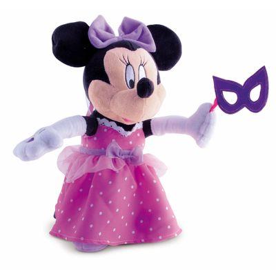Pelúcia com Som e Movimento Disney - Minnie Bailarina - Multikids