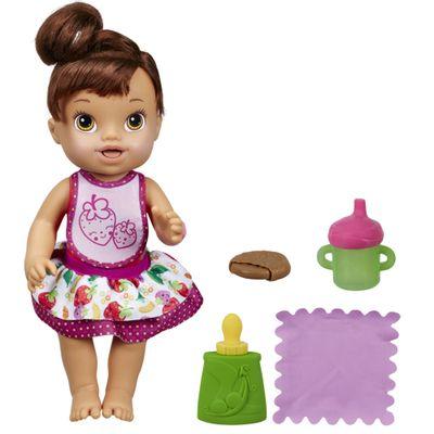 Boneca Baby Alive - Meu Lanchinho Morena - Hasbro
