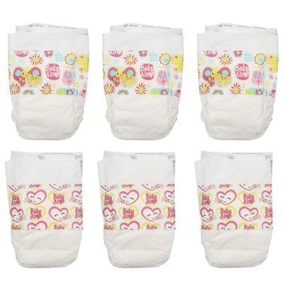 Acessórios para Bonecas Baby Alive - Refil com 6 Fraldas de Boneca - Hasbro