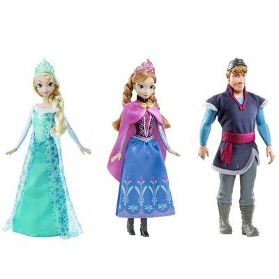 Kit-de-Bonecas-Ana-Elsa-e-Kristof-Disney-Frozen-Mattel