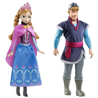 Kit-de-Bonecas-Anna-e-Kristoff-Disney-Frozen-Mattel