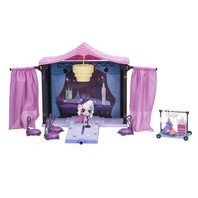 Playset Littlest Pet Shop - Desfile na Passarela - Hasbro