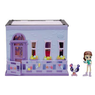 Playset Littlest Pet Shop - Quarto da Blythe com Boneca e Pet - Hasbro