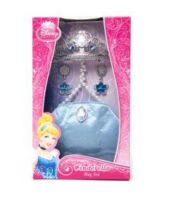 Conjunto-Tiara-e-Bolsa-Princesas-Disney---Cinderela---New-Toys