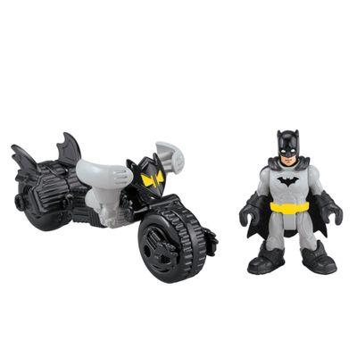 Bonecos Batman e Batmoto - Imaginext DC Super Amigos - Fisher-Price