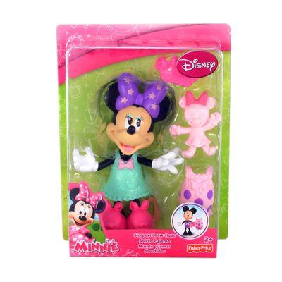 Boneca Mickey Mouse Club House - Minnie Festa do Pijama - Mattel - Disney