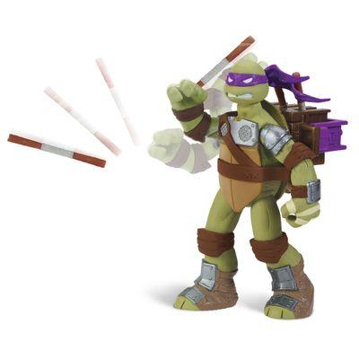 Boneco Flingers Tartarugas Ninja - Donatello - Multikids