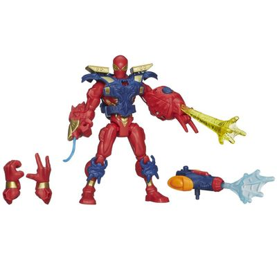 Boneco-Eletronico-Marvel-Super-Hero-Mashers---Iron-Spider-Man---Hasbro-2