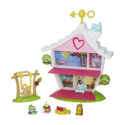 Jogo Telepods - Angry Birds Stella - Casa na Árvore - Hasbro