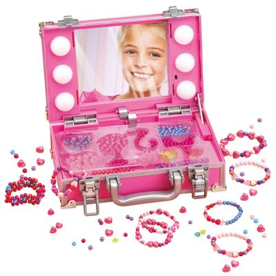 Porta Miçangas com Luzes - Barbie - Fun