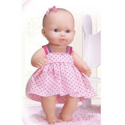 Boneca-Baby-Junior-Fofinha---Vestido-Pink---Cotiplas