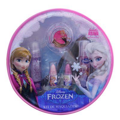 Bolsa-de-Maquiagem-Com-Brilho-Roxo---Disney-Frozen---Homebrinq