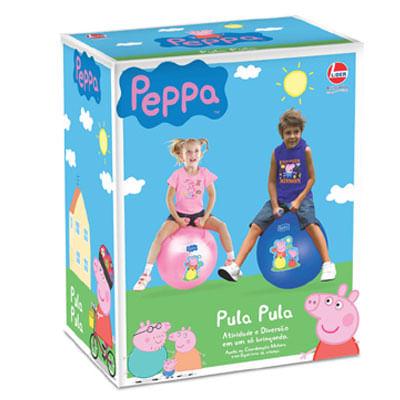 Pula Pula Peppa Pig - Azul Tam P - Lider