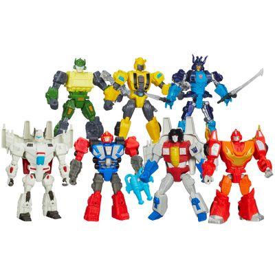 Kit-Bonecos-Transformers-Hero-Mashers-Jetfire-Bumblebee-Starscream-Autobot-Springer-Autobot-Drift-Autobot-Heatwave-Rodimus-Hasbro