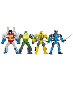 Kit-Bonecos-Transformers-Hero-Mashers-Bumblebee-Starcream-Autobot-Springer-Autobot-Drift