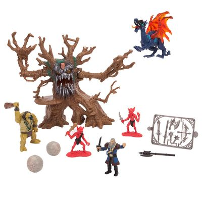 Playset-Legend-Of-Dragon---Arvore-Monstro---New-Toys