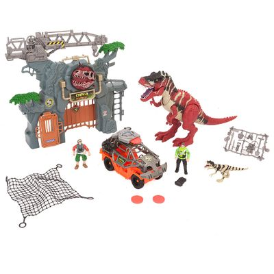 Playset-Dino-Valley---Forte-do-Dinossauro---New-Toys