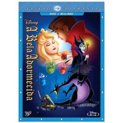 DVD + Blu-Ray - A Bela Adormecida - Edição Diamante - Disney