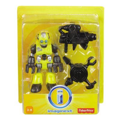Boneco Básico Robo Amarelo - Imaginext - Fisher-Price