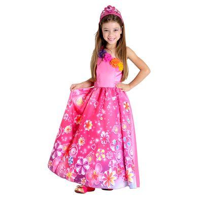 Fantasia Luxo Princesa - Barbie e o Portal Secreto - Sulamericana