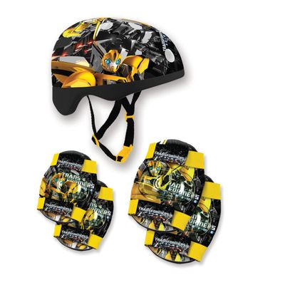 Kit-Capacete-e-Acessorios-Bumblebee-Preto---Transformers---Conthey