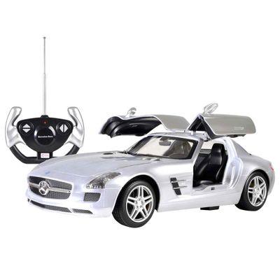 Carro-de-Controle-Remoto---Mercedes-SLS-AMG-Prata---CKS