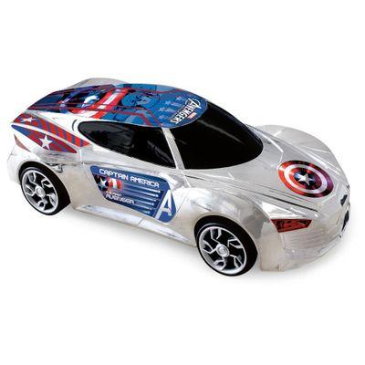 Carro-Avengers-Deluxe---Capitao-America---Yellow