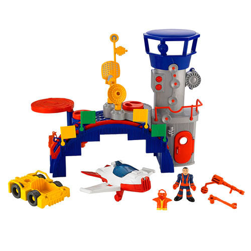 Torre de Controle - Imaginext Sky Racers - Fisher - Price
