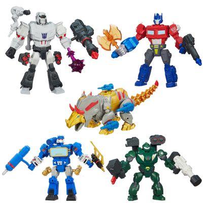 Kit-Bonecos-Transformers-Hero-Mashers-Soundwave-Optimus-Prime-Megatron-Bulkhead-Dinobot-Slug-Hasbro
