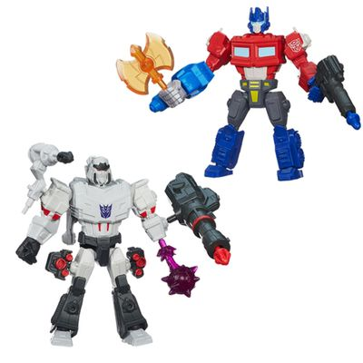 Kit-Bonecos-Transformers-Hero-Mashers-Optimus-Prime-Megatron-Hasbro